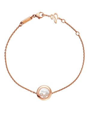 Happy Diamonds 18K Rose Gold Bracelet