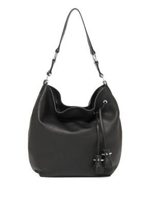 Kenna Tassel Leather Hobo