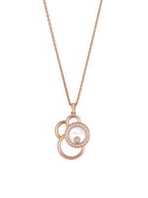 Happy Dreams Diamond & 18K Rose Gold Necklace