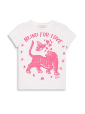 Little Girl's & Girl's Blind For Love Cotton T-Shirt