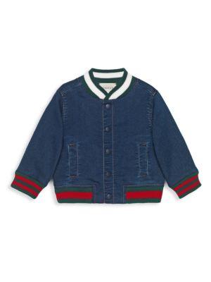 Baby's Demim Bomber Jacket
