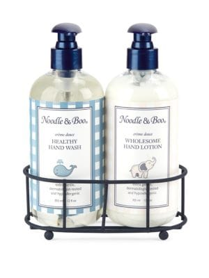 Healthy Hand Wash and Wholesome Hand Lotion Caddy Gift Set 0400095019546