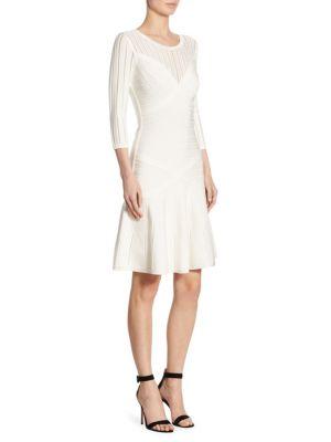 Knit Flared Dress