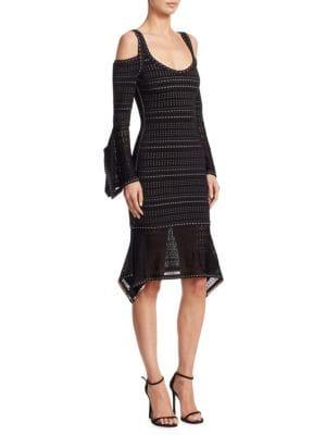 Kamryn Cold Shoulder Dress