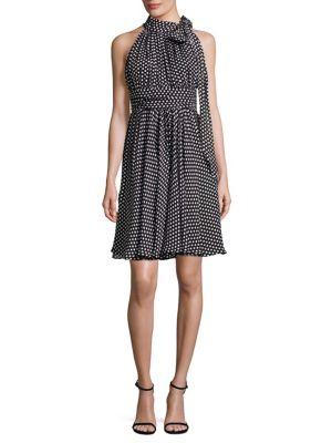 Lydia Dot Print Dress