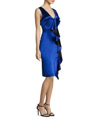 Side Ruffled Dress