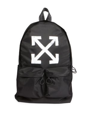 Brushed Arrows Backpack