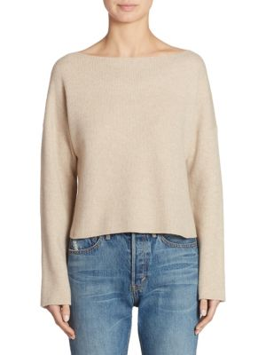 Cashmere Ribbed Top
