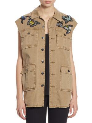 Canyon Butterfly Patch Vest