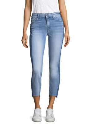 Roxanne Cropped Step Hem Jeans