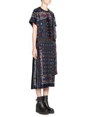 Bandana-Print Dress