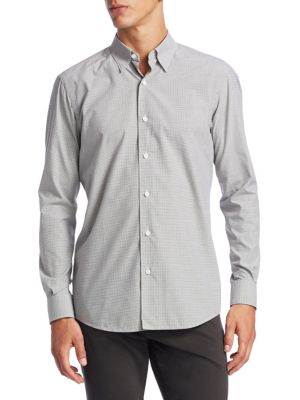 Cotton Casual Button-Down Shirt