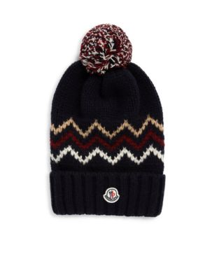Kid's Chunky Knit Zigzag Hat