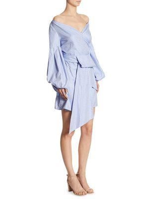 Mana Off-The-Shoulder Cotton Dress