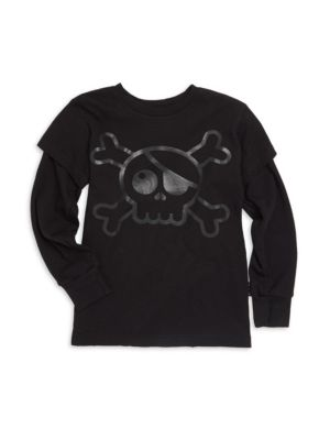 Baby Boy's, Little Boy's & Boy's Skull Cotton Tee
