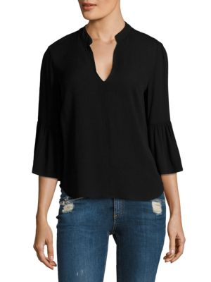 Oversize Bell Sleeves Blouse