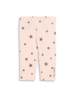 Baby & Toddler Girl's Stars Allover Printed Leggings