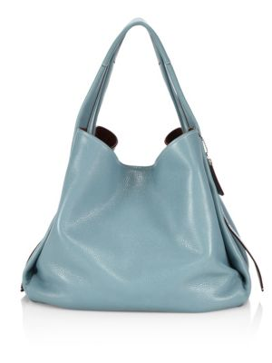 Glovetanned Pebble Leather Hobo Bag