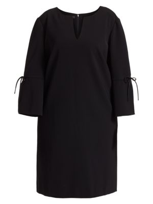 Deandra Knotted Bell Sleeved Dress