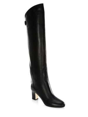 Minerva 65 Leather Over-The-Knee Boots