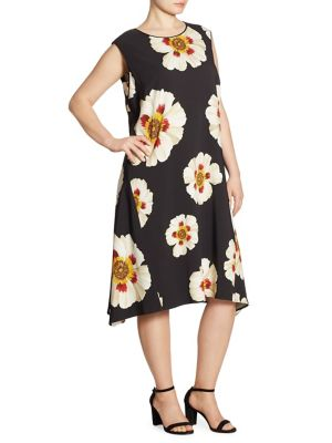 Romona Flower Print Dress