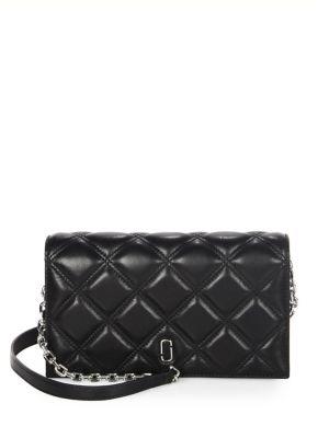 Matellasse Leather Shoulder Bag