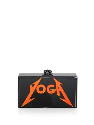Jean Yoga Box Clutch