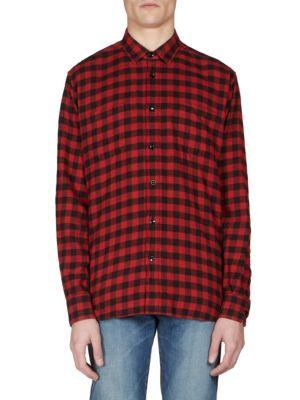 Regular-Fit Checkered Shirt