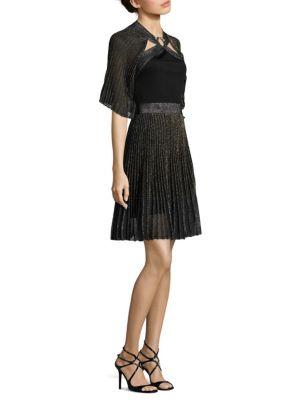 Velvet Cape Dress