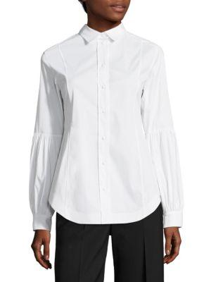 Cotton Poplin Shirt by Aquilano Rimondi