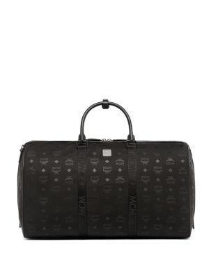 Dieter Monogrammed Weekender Bag