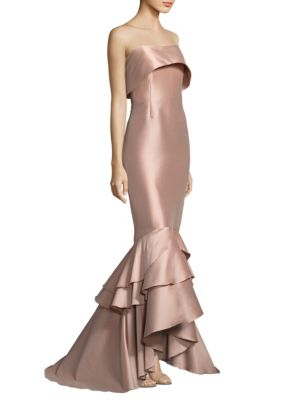 Hattie Strapless Gown