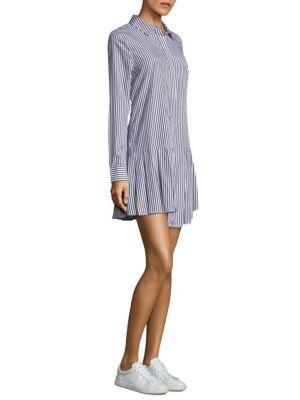 Gigi Striped Layered Hem Dress