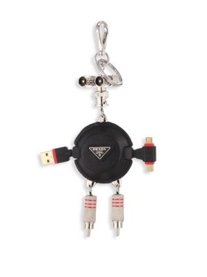 Trick Robot Charger Keychain