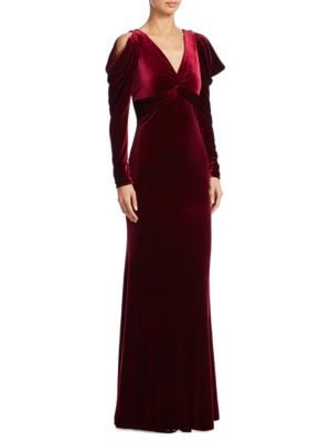 Velvet Mermaid Gown