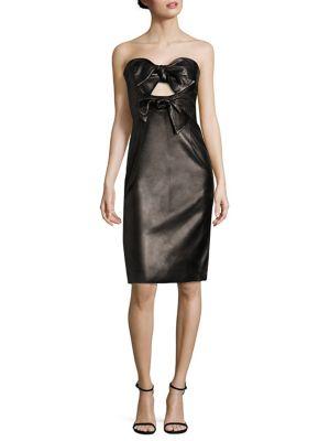 Leather Mackenzie Dress