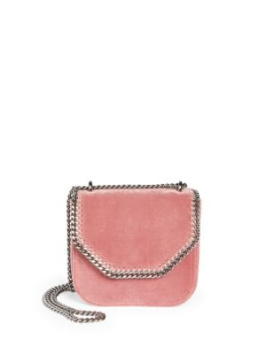 Chain-Trim Shoulder Bag