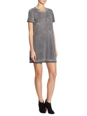 Stefan Short Sleeve Shift Dress