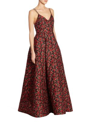 Marilla Floral Gown