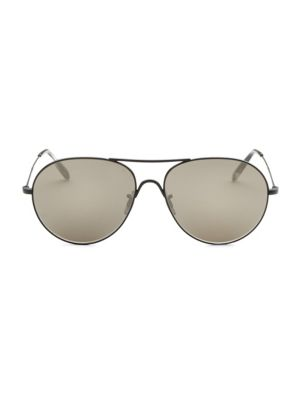 58MM Round Sunglasses