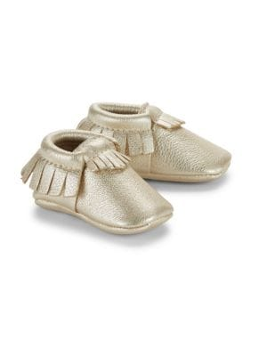Baby's Signature Core Leather Moccasins