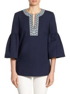 Ariana Grommet Tunic by Tory Burch
