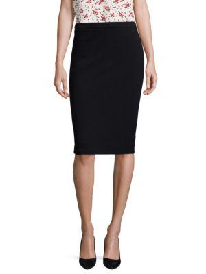 Ravasa Wool Pencil Skirt