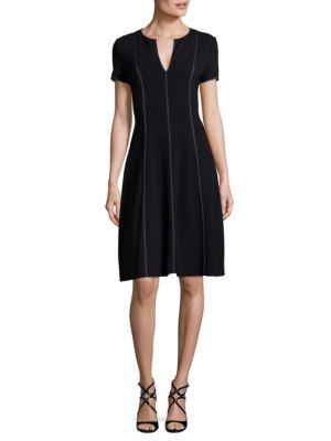 Daess Wool Flounce Dress