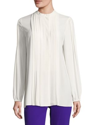 Neated Pleated Blouse