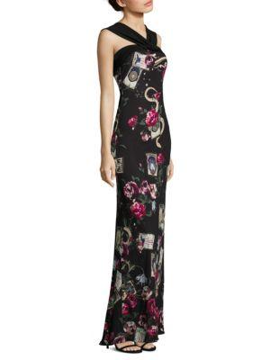 Halterneck Jersey Gown