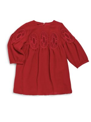 Baby' Girl's Couture Lace Medallion Dress