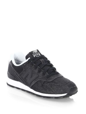 WL 696 Suede Lace-Up Sneakers