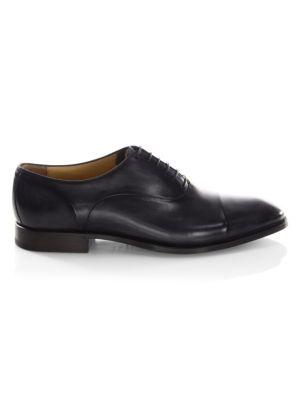 SUTOR MANTELLASSI Lennox Venezia Roccia Leather Oxfords