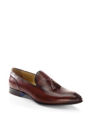 Lenny Venezia Leather Tassel Loafers